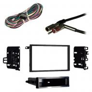 Cadillac Seville 1992 1993 1994 1995 w  Console Shift Double DIN Stereo Harness Radio Dash Kit
