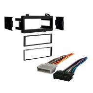 Dodge Omni 1984 1985 1986 1987 1988 1989 1990 Single DIN Stereo Harness Radio Install Dash Kit Pa...