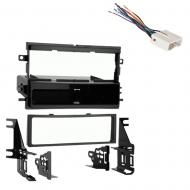 Ford Five Hundred 2005 2006 2007  Single DIN Stereo Harness Radio Install Dash Kit Package