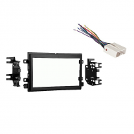 Ford Five Hundred 2005 2006 2007  Double DIN Stereo Harness Radio Install Dash Kit Package