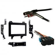 GMC S 15 Sonoma 1994 1995 1996 1997 Double DIN Aftermarket Stereo Harness Radio Install Dash Kit