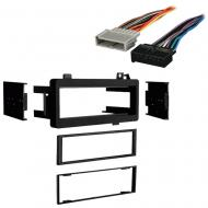 Dodge Charger 1984 1985 1986 1987 Single DIN Stereo Harness Radio Install Dash Kit Package