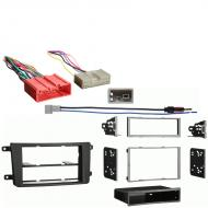 Mazda CX 9 2010 Single Double DIN Stereo Harness Radio Install Dash Kit Package