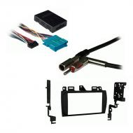 Cadillac DeVille 2000 2001 2002 2003 2004 2005 Double DIN Car Stereo Harness Radio Install Dash Kit