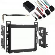 Chevy Malibu 2008 2009 2010 2011 2012 Double DIN Stereo Harness Radio Install Dash Kit Package