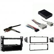Chevy Equinox 2005 2006 Single DIN Stereo Harness Radio Install Dash Kit Package