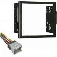 Saturn S Series 2000 2001 2002 Double DIN Aftermarket Stereo Harness Radio Install Dash Kit
