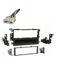 Chevy Metro 1995 1996 1997 1998 1999  Single DIN Stereo Harness Radio Install Dash Kit Package