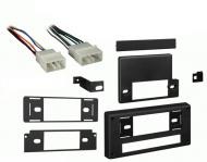Subaru Legacy 1990 1991 1992 1993 1994  Single DIN Stereo Harness Radio Install Dash Kit Package