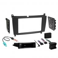 Mercedes CLK Class 2005 2006 2007 2008 2009  Single or Double DIN Stereo Radio Install Dash Kit