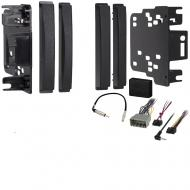 Jeep Liberty 2008 2009 2010 2011 2012 Double DIN Stereo Harness Radio Install Dash Kit Package