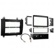 Cadillac CTS 2003 2004 2005 2006 2007 Single or Double DIN Stereo Radio Install Dash Kit Black