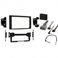 Jeep Patriot 2007 2008 Double DIN Stereo Harness Radio Install Dash Kit Package
