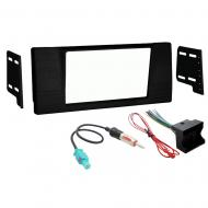 BMW M5 2001 2002 2003  Double DIN Stereo Harness Radio Install Dash Kit Package New