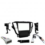 Acura TL 2009 2010 2011 2012 2013 2014 Single or Double DIN Stereo Harness Radio Install Dash Kit