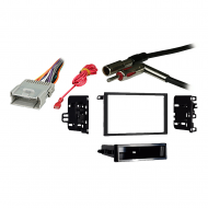 Chevy Full Size Van Express 2001 2002 Double DIN Stereo Harness Radio Dash Kit