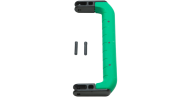 "SKB Cases 3i-HD81-GN 8.625"" Large Replacement Colored Handle for iSeries Case - Green Overmold"