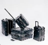 """SKB Cases 3SKB-2114MR Pull Handle Case without Foam with Built-in Wheels 21 3/8"""" X 14 1/4&qu..."""