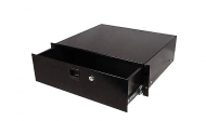 Odyssey Cases ARDP02 2 Space Pro Rack Drawer Accessory With Lock