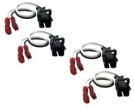 Saturn Ion 2003-2005 Factory Speaker Replacement Connector Harness Package Set