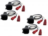 Lincoln Zephyr 2006 Factory Speaker Replacement Connector Harness Package Set