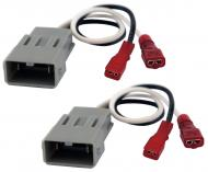 Compatible with Honda S2000 2000-2009 Factory Speaker Replacement Connector Harness Package