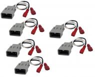 Compatible with Acura RL 1999-2013 Factory Speaker Replacement Connector Harness Package Kit