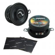 """Harmony Audio HA-C35 Car Stereo Carbon 3.5"""" Replacement 110W Audio Speakers Bundle with Harm..."""