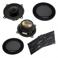 "Harmony Audio HA-R5 Car Stereo Rhythm Series 5.25"" Replacement 225W Speakers & Grills Bu..."