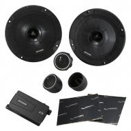 "Kicker 46CSS674 Car Audio 6 3/4"" Component Full Range Stereo Speakers Set CSS67 Bundle with ..."