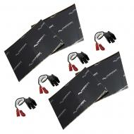 Harmony Audio (2) HA-726512 Factory Speaker Replacement Harness Bundle with Sound Dampening Speak...