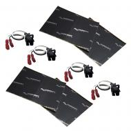 Harmony Audio (2) HA-724568 Factory Speaker Replacement Harness Bundle with Sound Dampening Speak...