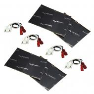 Harmony Audio (2) HA-721002 Factory Speaker Replacement Harness Bundle with Sound Dampening Speak...