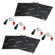 Harmony Audio (2) HA-724570 Factory Speaker Replacement Harness Bundle with Sound Dampening Speak...