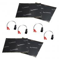 Harmony Audio (2) HA-724572 Factory Speaker Replacement Harness Bundle with Sound Dampening Speak...