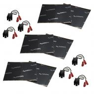 Harmony Audio (3) HA-726512 Factory Speaker Replacement Harness Bundle with Sound Dampening Speak...