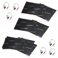 Harmony Audio (3) HA-729300 Factory Speaker Replacement Harness Bundle with Sound Dampening Speak...