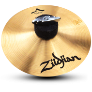 """Zildjian A0206 6"""" A Series Splash Drumset Cymbal with High Pitch & Bright Sound With ZKEY"""