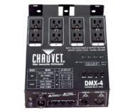 Chauvet DJ DMX-4 4-Channel DMX-512 Dimmer / Switch Pack