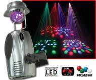 American DJ ELECTRA LED DMX Controllable LED Moonflower Effect W/ Rotating Mirror