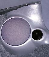 "Q Logic 95-96 Pontiac Sunbird 5 1/4"" Custom Speaker Kick Panel"