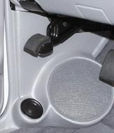 "Q Logic 94 Mazda B-Series 5 1/4"" Custom Speaker Kick Panel"