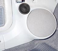 "Q Logic 84-96 Jeep Cherokee 5 1/4"" Custom Speaker Kick Panel"
