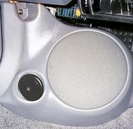 "Q Logic 95-99 Eagle Talon 6 1/2"" Custom Speaker Kick Panel"