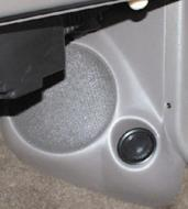 "Q Logic 00-06 Jeep Grand Cherokee 5 1/4"" Custom Speaker Kick Panel"