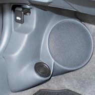 "Q Logic 96-00 Honda Civic 5 1/4"" Custom Speaker Kick Panel"
