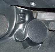 "Q Logic 02-06 Acura RSX 6 1/2"" Custom Speaker Kick Panel"
