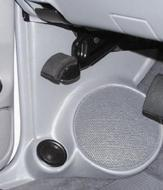 "Q Logic 95-96 Mazda B-Series Truck 5 1/4"" Custom Speaker Kick Panel"