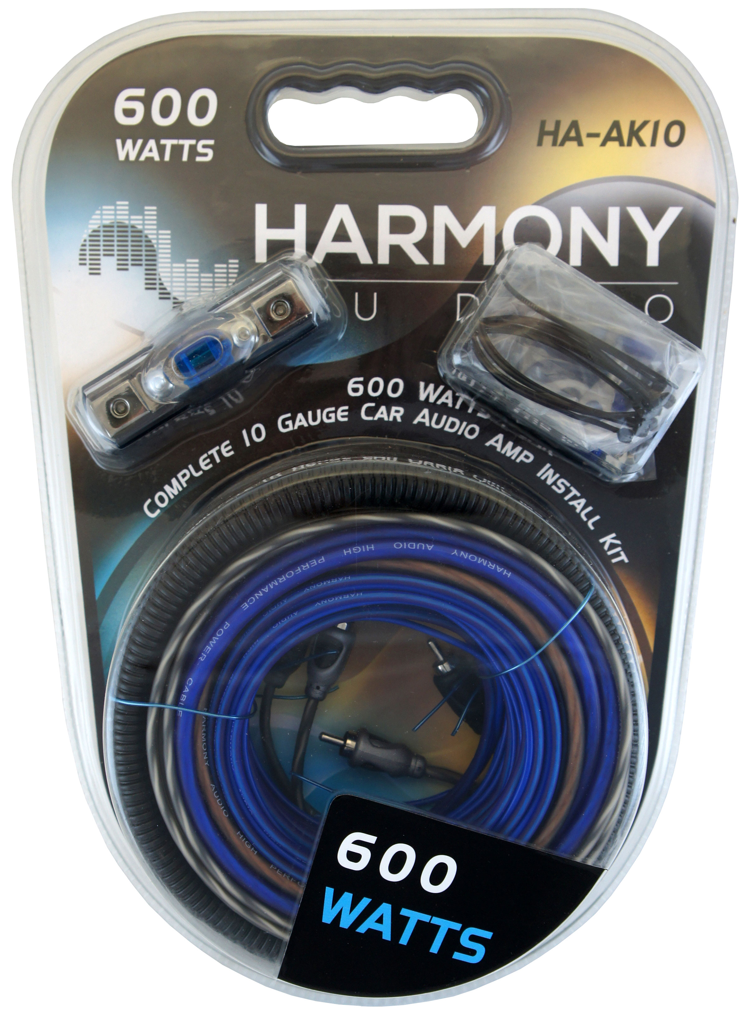 Harmony Audio 12 Gauge CCA Car Home Stereo Blue Speaker Wire Cable ...