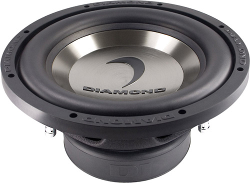 "Diamond Audio D110D2.2 Car Stereo D1 Series 10"" Dual 2 Ohm Sub Subwoofer"